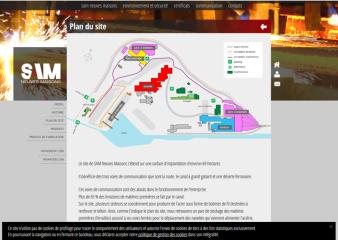 Plan site industriel Sam Neuves Maisons