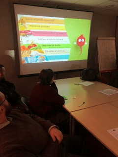 Campagne de sensibilisation au diabète sur le site d'Iton Seine Janvier 2019
